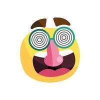emoji with mask vector