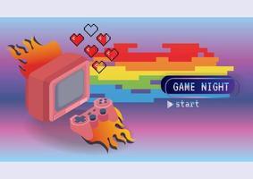 Game zone game icon concept vector