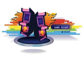 Game time Game zone game icon background vector