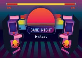 Gaming time Game zone game icon background vector