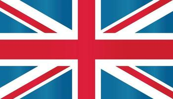 europe english british great britain flag symbol flat vector with gradient color