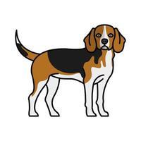 hamiltonstovare dog pet mascot breed character vector