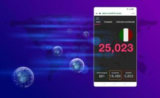 Alert corona virus Smart Phone vector