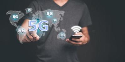5G signal distribution system illustration photo