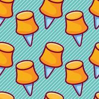 push pin seamless pattern illustration vector
