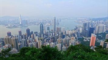 timelapse de la ville de hong kong video