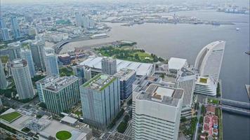 Yokohama city in Japan video