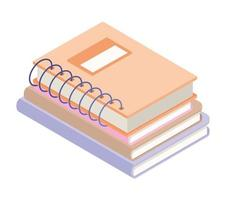 stack of records vector
