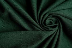 Green fabric texture background photo