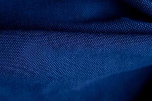 Closeup blue carpet background, wallpaper photo