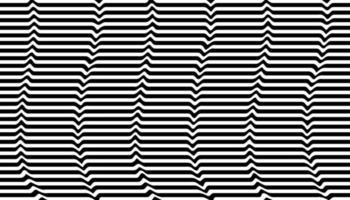 Black and white optical illusion background vector