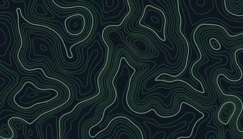 Topographic map contour lines background vector