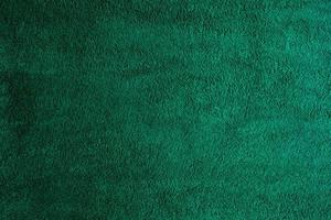Green fabric texture background, abstract, closeup texture of cloth photo
