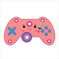 Stick game character vector template design illustration