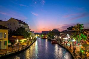 The old town in Melaka in Malaysia photo