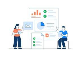 Project Management Vector Illustration