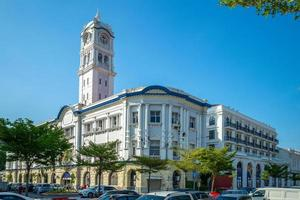 Street view of George Town, Penang, Malaysia photo