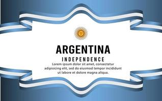 independencia argentina dia-10 vector