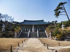 templo de naksansa. ciudad de yangyang, corea del sur foto