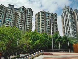 Beautiful apartments in Shenzhen city, China photo