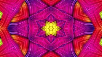 Symmetric and Hypnotic Kaleidoscope video