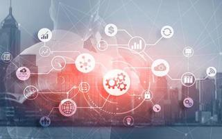 Innovation Automation Software Technology Process System Business photo