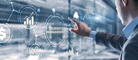 propiedad administrativa. mantenimiento y vigilancia de bienes inmuebles y propiedad física foto