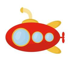 submarine for child vector