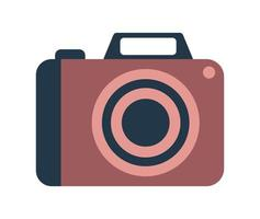 digital camera isolated vector