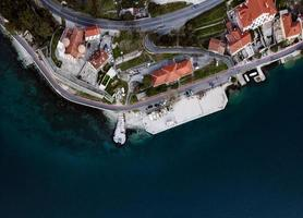 St. Matthews Church, St. Mateja Church in Dobrota, part of Kotor old town in Montenegro. photo