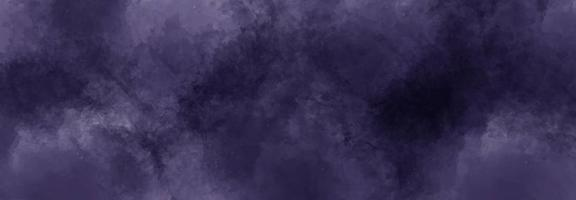 Dark purple watercolor abstract background photo