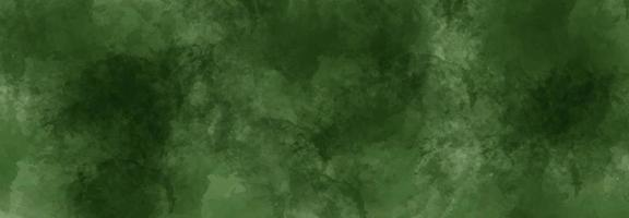 Green watercolor abstract background photo