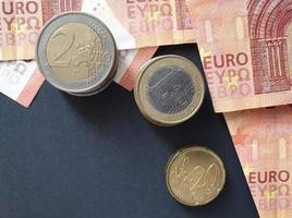 economy and business with European money photo