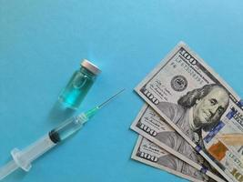 investment in health care and vaccination in United States of America photo