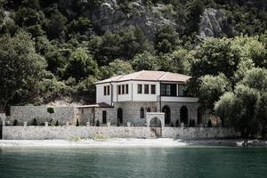 Ohrid Lake, Europe 2018- Church Mother of God Zahumska photo