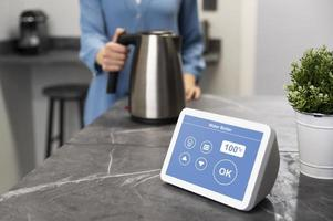 Home automation with water boiler device photo