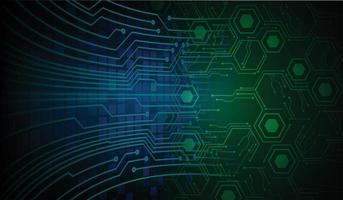 cyber circuit future technology concept background vector