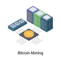 Bitcoin Data Mining vector
