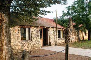 Colonia, Uruguay, Apr 11, 2016 - Historic stone house in Conchilas photo