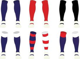 Junior And Adult Cool Max Socks vector