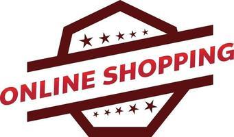 Diseño de etiqueta de promoción de tienda de garantía para marketing. vector