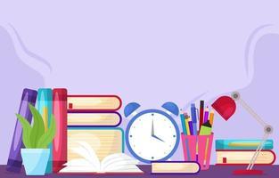 Celebration of Literacy Background vector