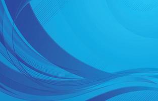 Wave Dynamic Blue vector
