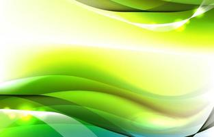 Abstract Modern Green Background vector