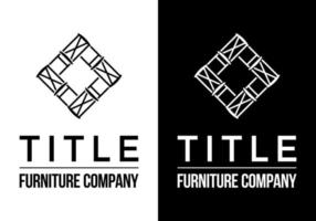 LOGO FOR A FURNITURE COMPANY vector