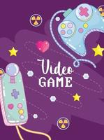 video game controls vector