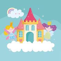 fairy cute cartoon vector