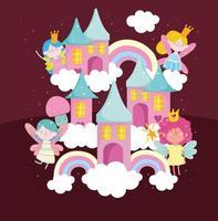 fairies cute world vector