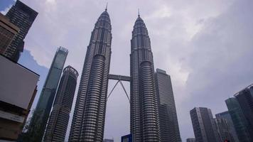 Kuala Lumpur Twin Tower video
