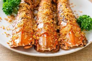 Fried Mantis Shrimp with Garlic photo
